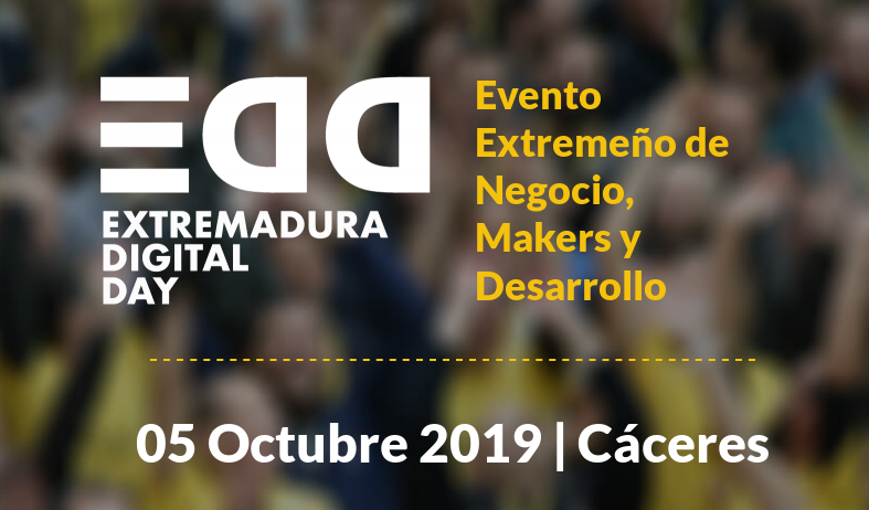Asistimos al Extremadura Digital Day 2019