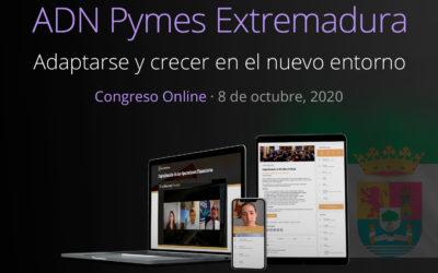 Llega a Extremadura el primer congreso ADN Pymes online